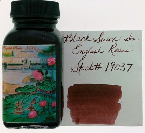 Noodler's Black Swan English Roses Bottled Ink