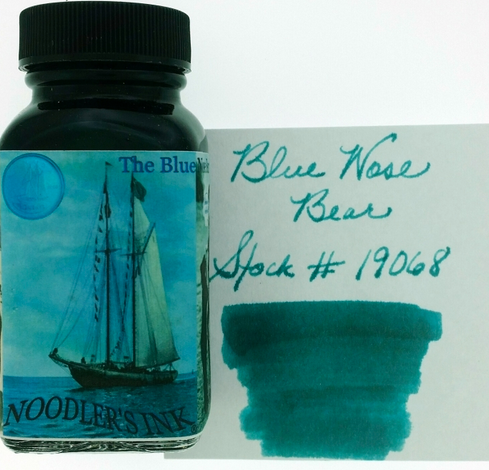 Noodler's Blue Nose Bear Bottled Ink