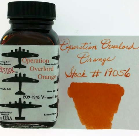 Noodler's Operation Overload Orange Bottled Ink