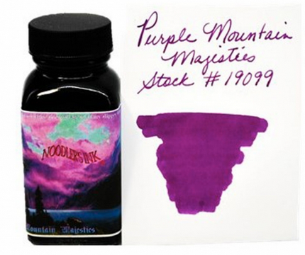 Noodler's Purple Mountain Majesty Bottled Ink