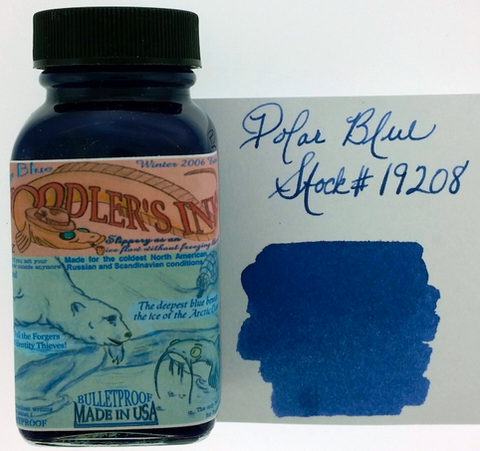Noodler's Eternal Polar Blue Bottled Ink