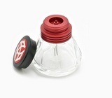 Front view of TWSBI Diamond Ink Bottle 50 mL Red