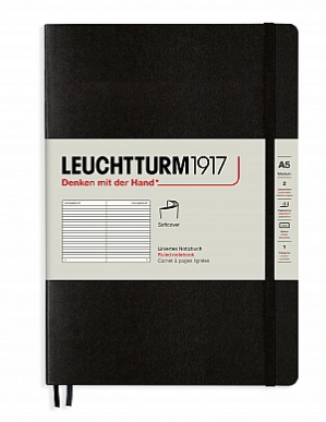 Leuchtturm1917 Ruled A5 Softcover Notebook