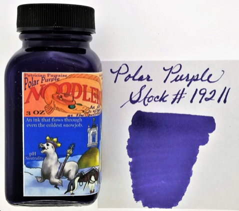 Noodler's Polar Purple Bottled Ink