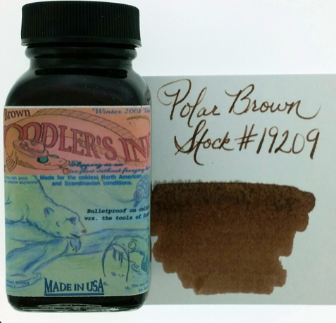 Noodler's Polar Brown Bottled Ink