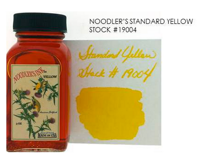 Noodler's Standard Yellow Bottled Ink