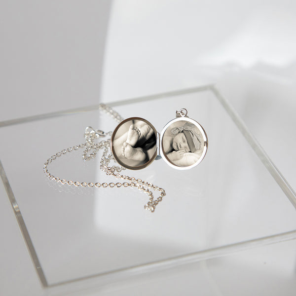 Sterling Silver double sided locket