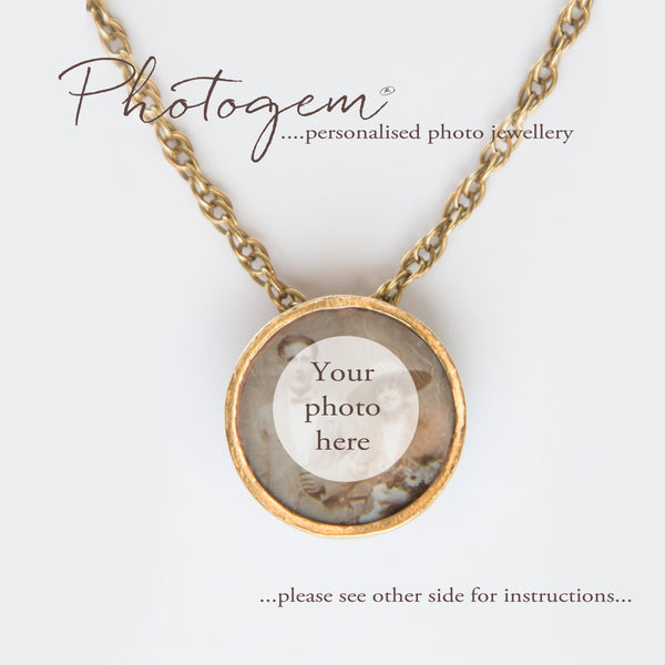 Photogem Memorial Jewellery Gift Certificates in 9ct Gold