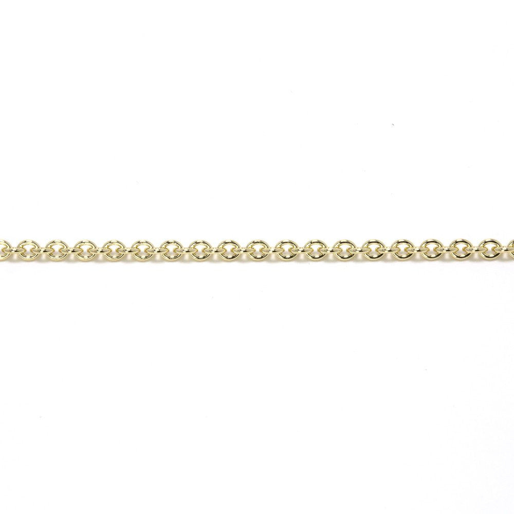 Photogem 9ct gold necklace with 16mm image