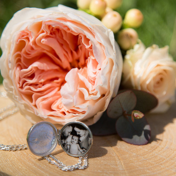 Photogem 16mm personalised locket necklace.