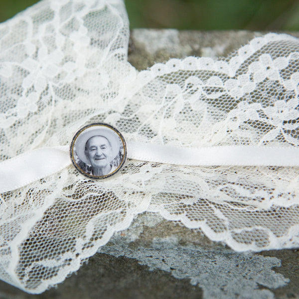 Wedding Bouquet or Buttonhole Personalised Photogem
