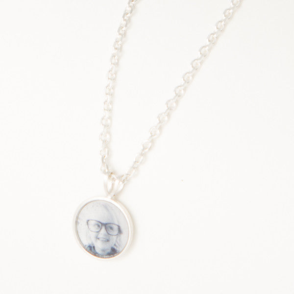 Extra 10mm sterling silver Photogem Memorial Jewellery and tag to create a cluster