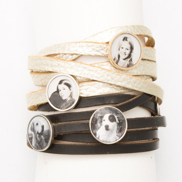 Additional gem for Photogem wrap bracelet