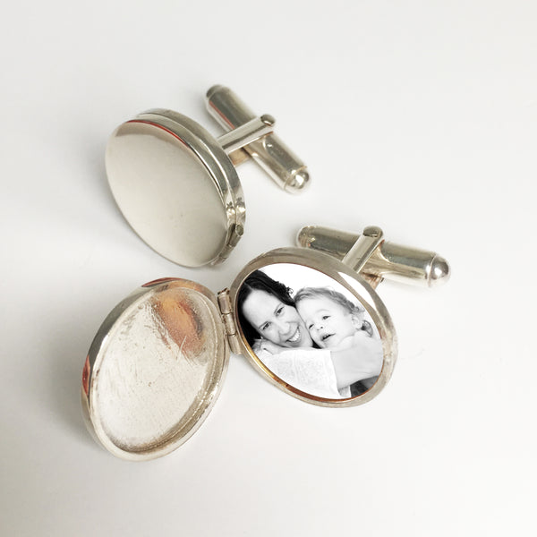 Photogem Locket Cufflinks