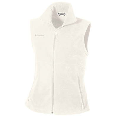 Columbia Fern Creek Full-Zip Fleece Vest, Outerwear, Columbia ThreadedLogo
