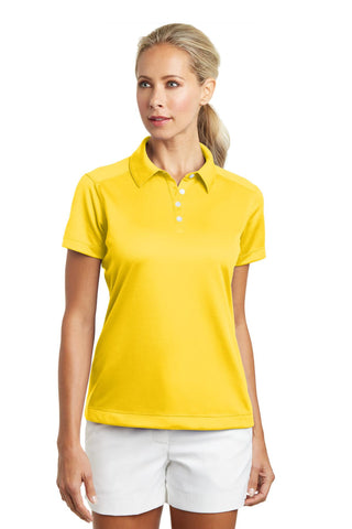 Nike Golf - Ladies Dri-FIT Pebble Texture Polo. 354064, Ladies, Nike ThreadedLogo
