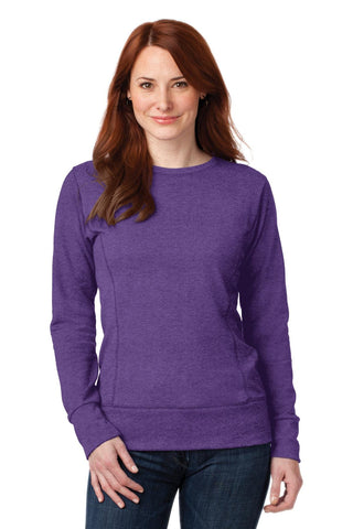 Anvil Ladies French Terry Crewneck Sweatshirt - ThreadedLogo