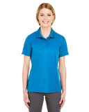 Womens Cool & Dry Pique Polo, , UltraClub ThreadedLogo