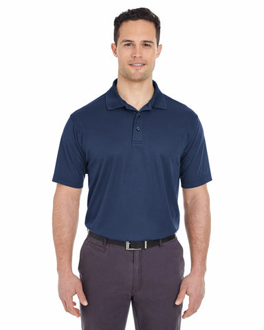 Men's Cool & Dry Pique Polo, , UltraClub ThreadedLogo