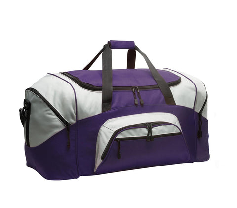 Port Authority¨ - Standard Colorblock Sport Duffel. BG99, Bags, Port Authority ThreadedLogo