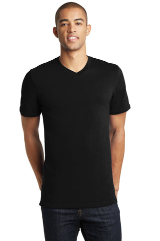 District Young Mens The Concert Tee V-Neck - ThreadedLogo