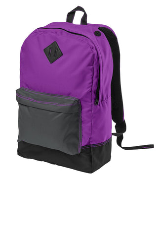 District Retro Backpack - ThreadedLogo