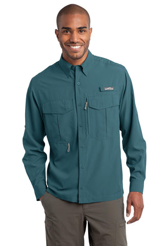 Eddie Bauer Long Sleeve Performance Fishing - ThreadedLogo