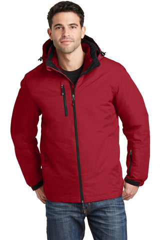 Port Authority¬ Vortex Waterproof 3-in-1 Jacket. J332, Outerwear, Port Authority ThreadedLogo