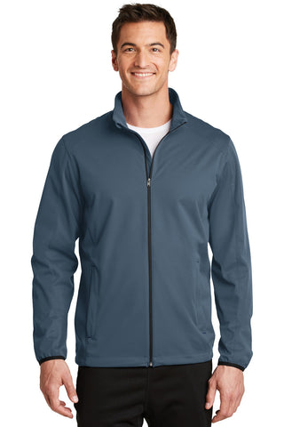 Port Authority¬ Active Soft Shell Jacket. J717, Outerwear, Port Authority ThreadedLogo
