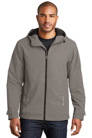 Port Authority¬ Northwest Slicker. J7710, Outerwear, Port Authority ThreadedLogo
