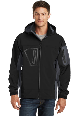 Port Authority¬ Waterproof Soft Shell Jacket. J798, Outerwear, Port Authority ThreadedLogo
