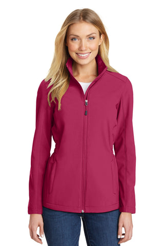 Port Authority¬ Ladies Cinch-Waist Soft Shell Jacket. L334, Ladies, Port Authority ThreadedLogo