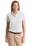 Port Authority¬ Ladies Poly-Charcoal Blend Pique Polo. L497, Ladies, Port Authority ThreadedLogo