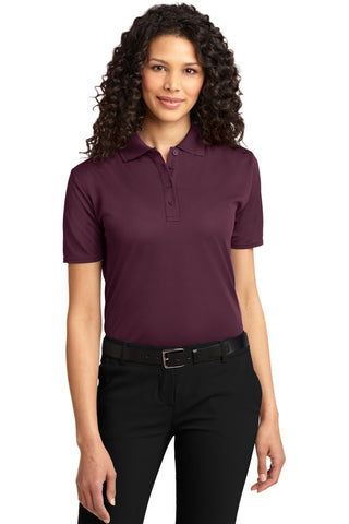 Port Authority Ladies Dry Zone Ottoman Polo., Ladies, Port Authority ThreadedLogo