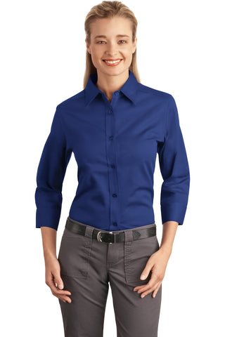 Port Authority Ladies 3/4-Sleeve Easy Care Shirt., Ladies, Port Authority ThreadedLogo