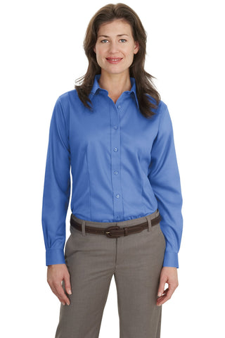 Port Authority Ladies Non-Iron Twill Shirt., Ladies, Port Authority ThreadedLogo