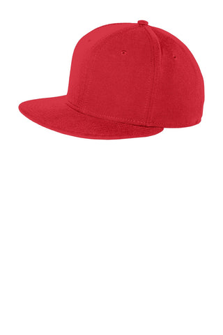New Era Original Fit Flat Bill Snapback Cap - ThreadedLogo