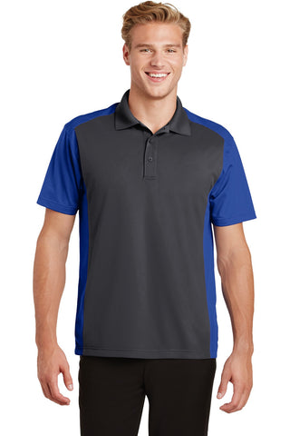 Sport-Tek¬ Colorblock Micropique Sport-Wick¬ Polo. ST652, Polos/Knits, Sport-Tek ThreadedLogo