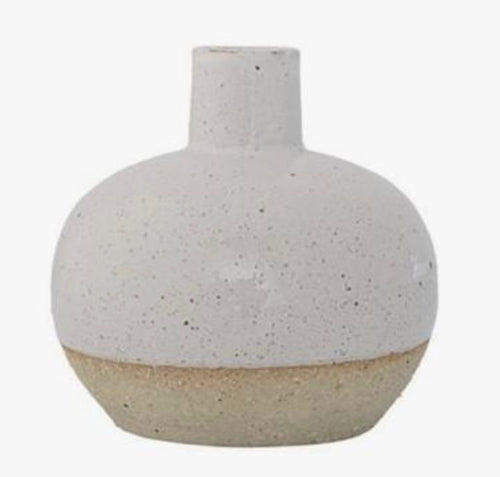Vase with Sand Finish, 2 Colors
