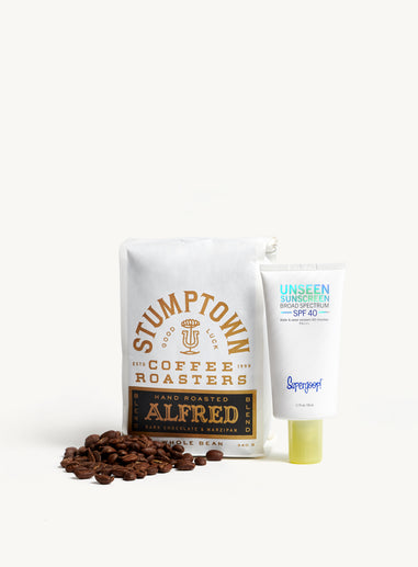 Supergoop! x Alfred Coffee Rise, Shine & SPF Kit