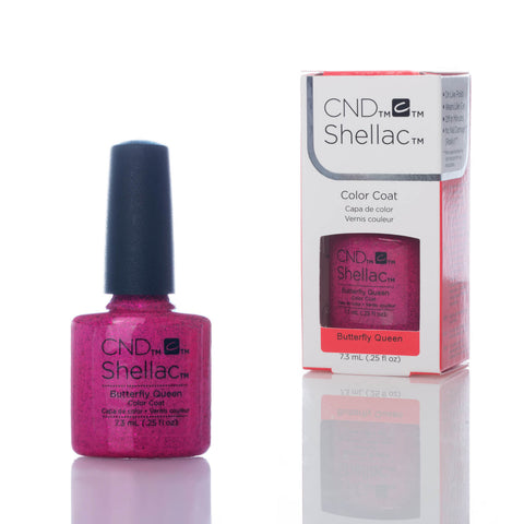 CND Shellac UV Nail Polish - Butterfly Queen 7.3ml - Gel Addicts  - 2