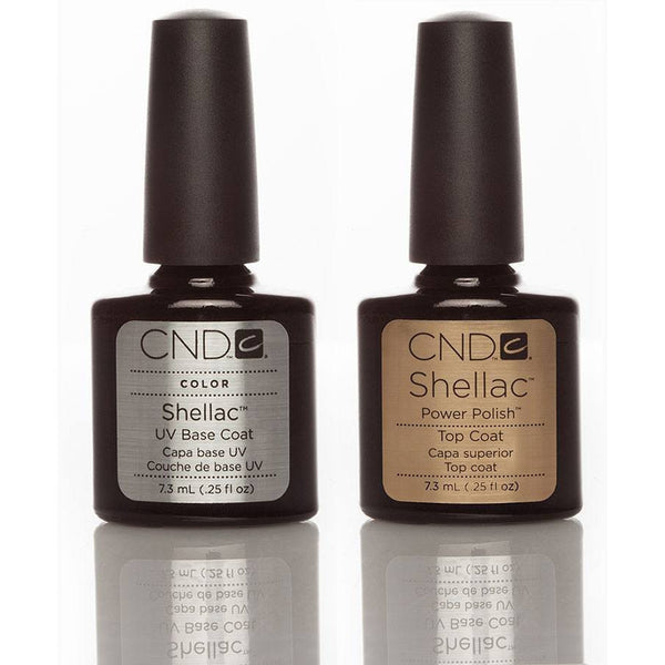 CND Shellac Base & Top Coat Duo 7.3ml - Gel Addicts