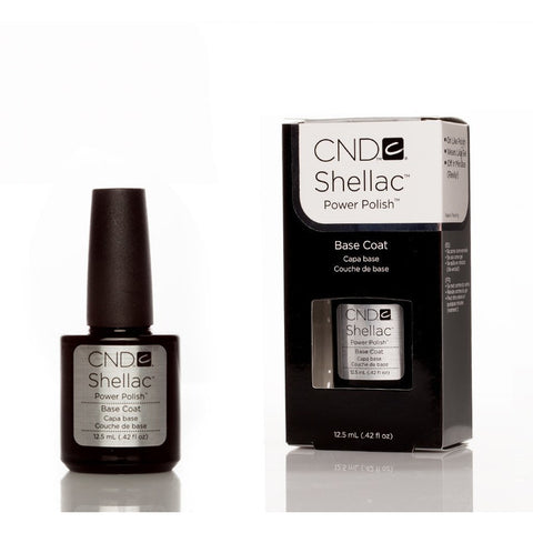 CND Shellac UV Nail Base Coat - 12.5ml - Gel Addicts
