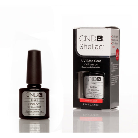 CND Shellac UV Nail Base Coat - 7.3ml - Gel Addicts