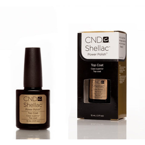 CND Shellac UV Nail Top Coat - 15ml - Gel Addicts