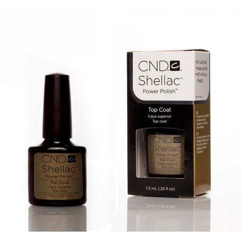 CND Shellac UV Nail Top Coat - 7.3ml - Gel Addicts