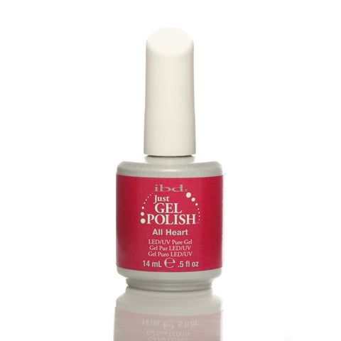 IBD Just Gel UV Nail Polish - All Heart 14ml - Gel Addicts  - 2