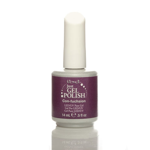 IBD Just Gel UV Nail Polish - Con-fuchsion 14ml - Gel Addicts  - 2