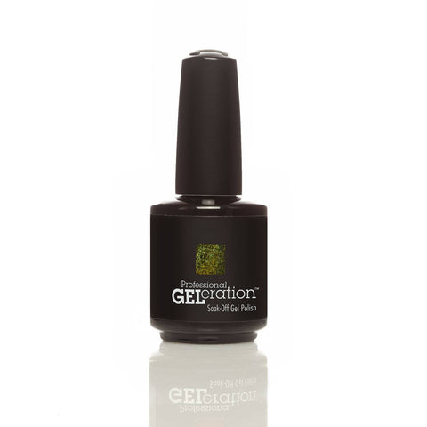 Jessica GELeration Soak Off UV Gel - Chartreuse Cocktail 15ml - Gel Addicts  - 2
