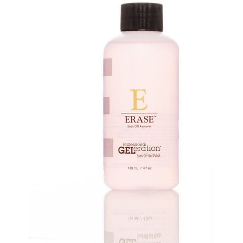 Jessica GELeration Soak Off UV Gel - ERASE Remover 120ml - Gel Addicts